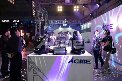 ACME惊艳亮相日本首届演出活动设备展