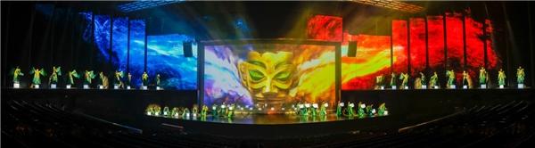 北京欢乐谷《金面王朝》焕新回归,华侨城致力打造中国文化演艺新极点